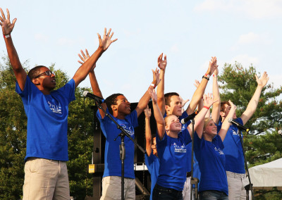 SPARC's SPOTLIGHT at E.J. Wade Concert in the Park: Jazzed for Education, August 2014
