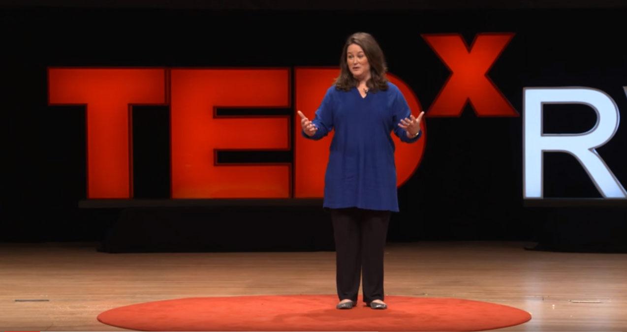 Erin Thomas-Foley delivers TEDxRVA talk about LIVE ART